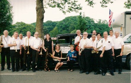 Big Band East at Agawam Park, July 2005